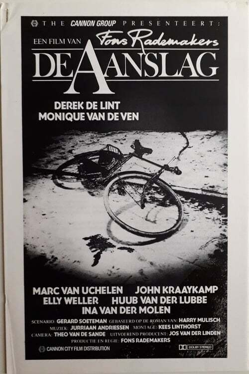 movie cover - De Aanslag