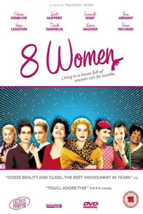 movie cover - 8 Femmes