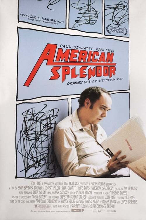 movie cover - American Splendor
