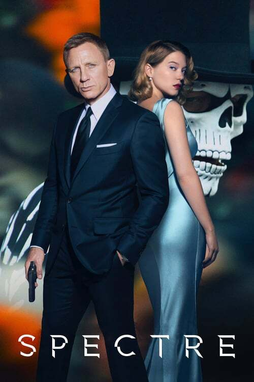 movie cover - Spectre