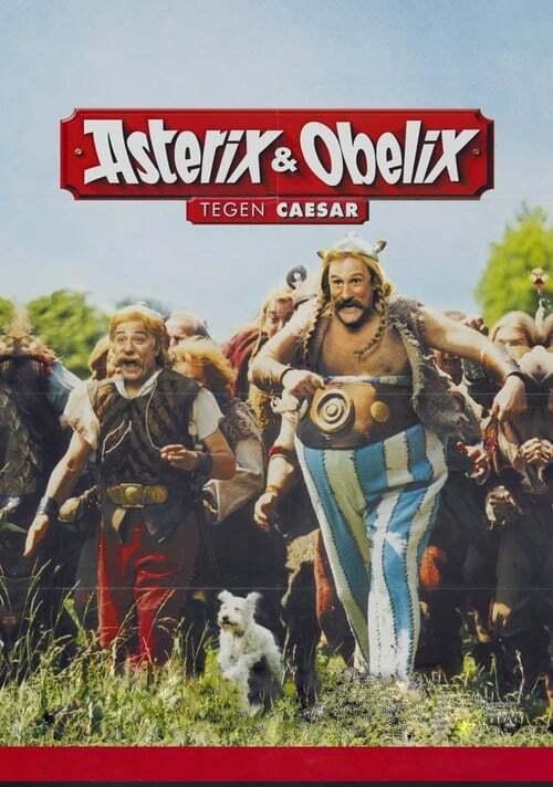 movie cover - Asterix Et Obelix: Bieden Dapper Weerstand Tegen Caesar