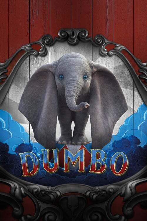 movie cover - Dumbo