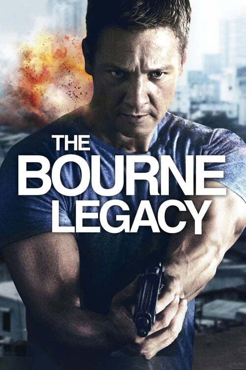 movie cover - The Bourne Legacy