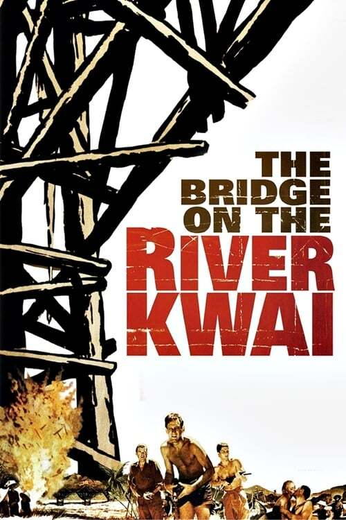 movie cover - The Bridge On The River Kwai
