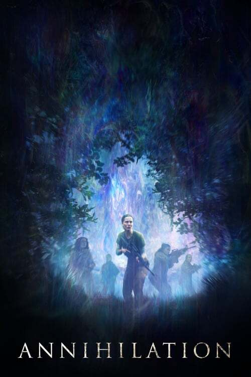 movie cover - Annihilation