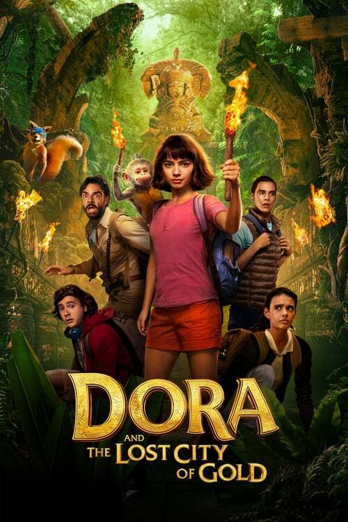 movie cover - Dora And The Lost City Of Gold