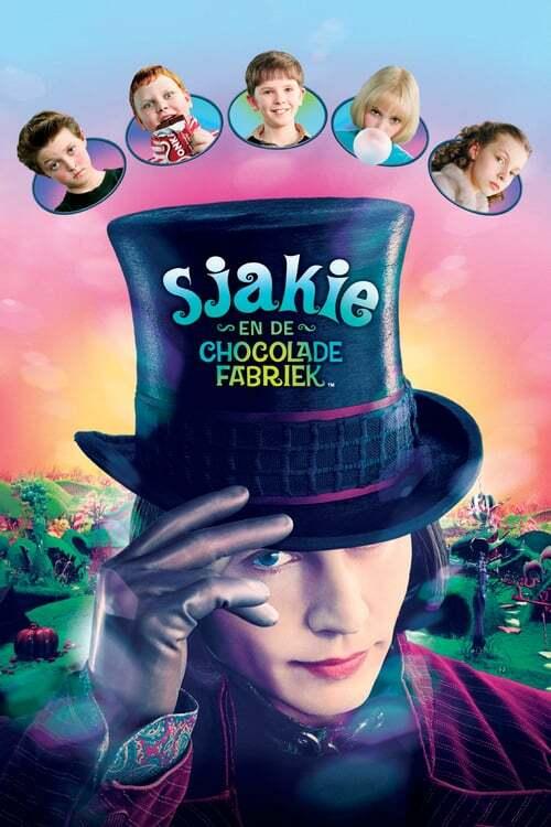 movie cover - Sjakie en de Chocolade Fabriek