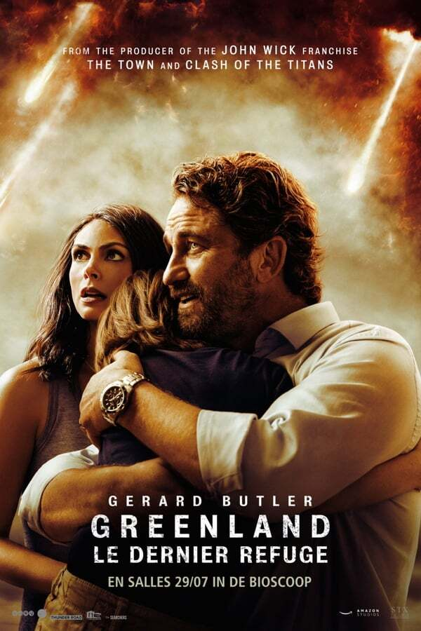 movie cover - Greenland