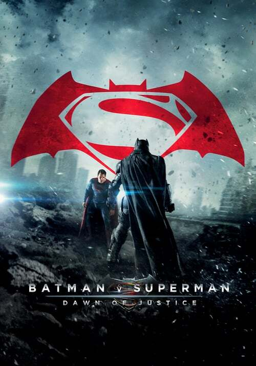 movie cover - Batman V Superman: Dawn Of Justice