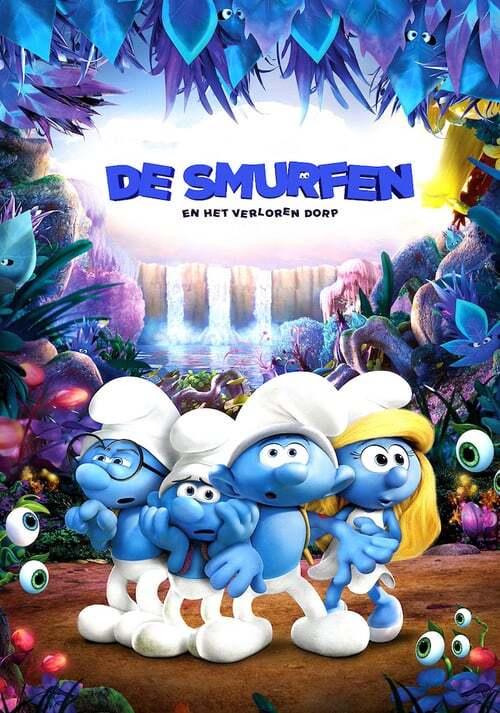 movie cover - De Smurfen: En het Verloren Dorp