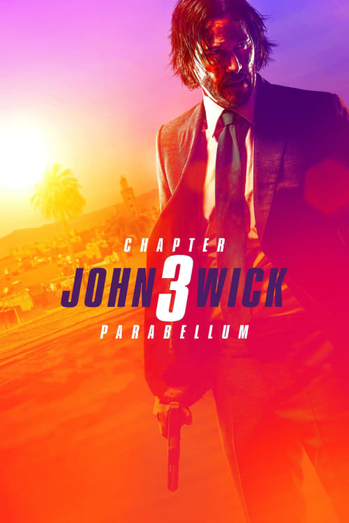 movie cover - John Wick 3 - Parabellum