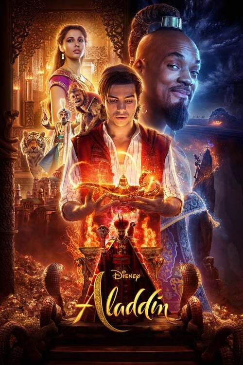 movie cover - Aladdin