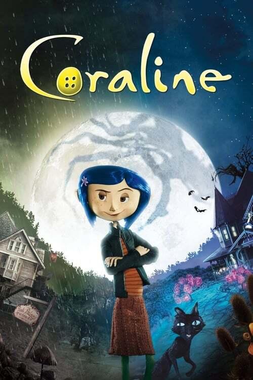 movie cover - Coraline