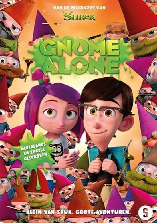 movie cover - Gnome Alone