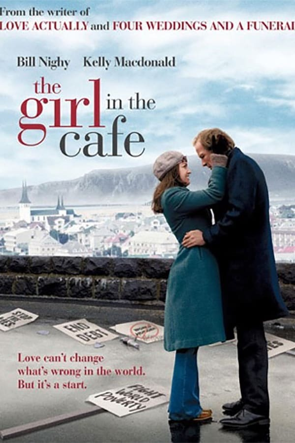 movie cover - The Girl In The Cafe
