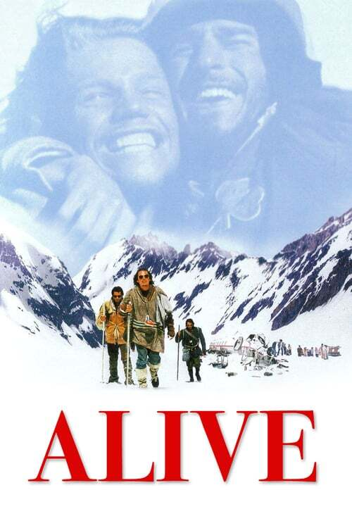 movie cover - Alive