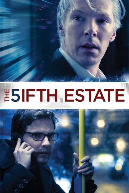 movie cover - The Fifth Estate