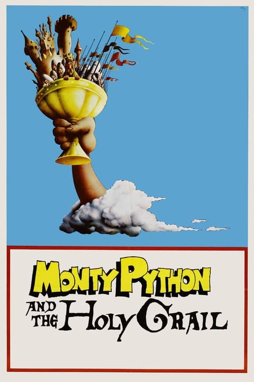 movie cover - Monty Python And The Holy Grail