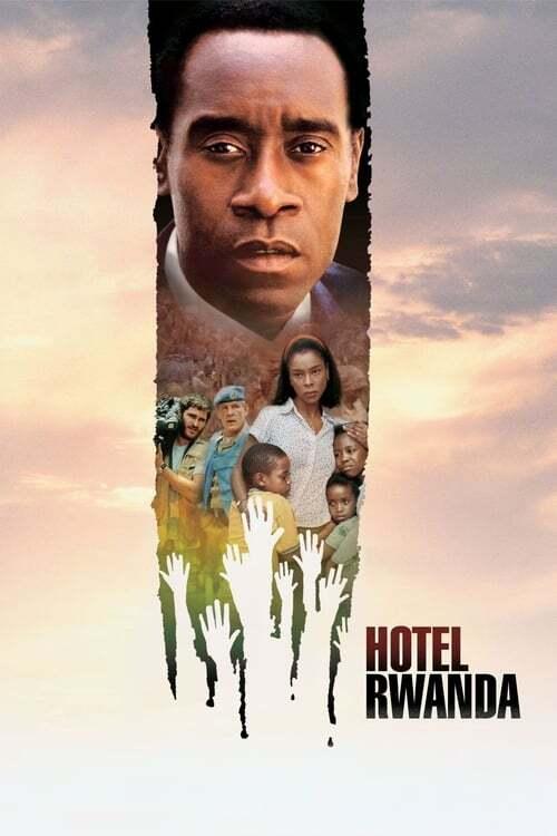 movie cover - Hotel Rwanda