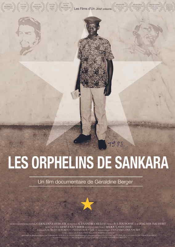 movie cover - Les Orphelins de Sankara