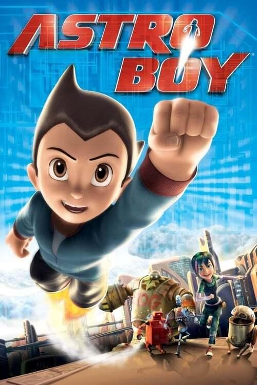 movie cover - Astro Boy