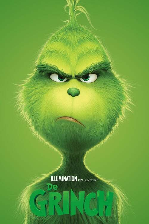 movie cover - De Grinch