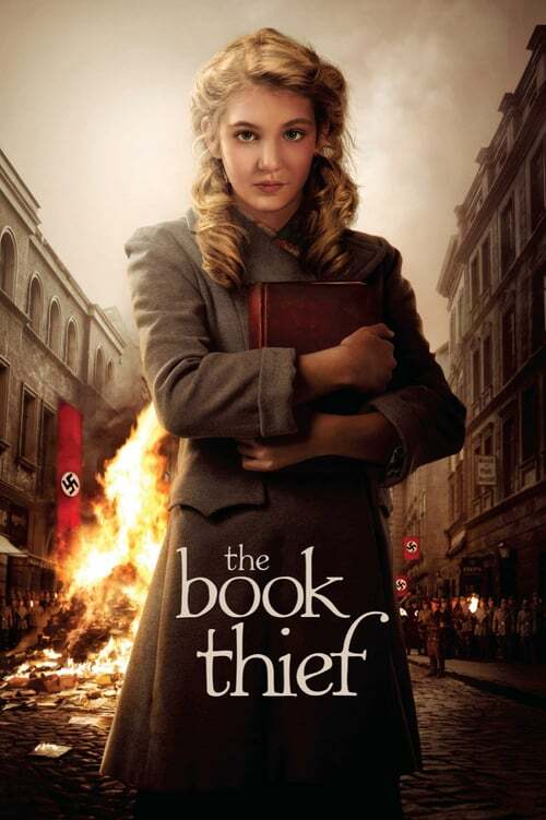 movie cover - The Book Thief