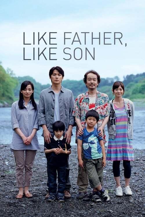movie cover - Like Father, Like Son
