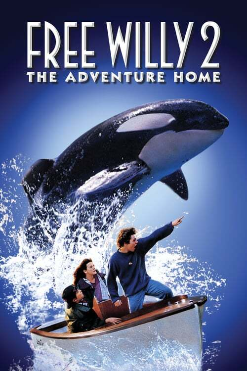 movie cover - Free Willy 2: The Adventure Home