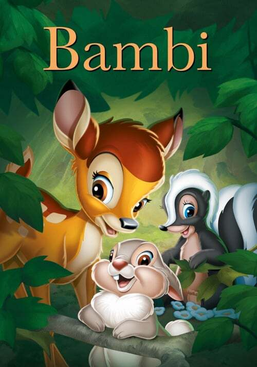 movie cover - Bambi