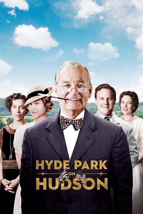 movie cover - Hyde Park On Hudson