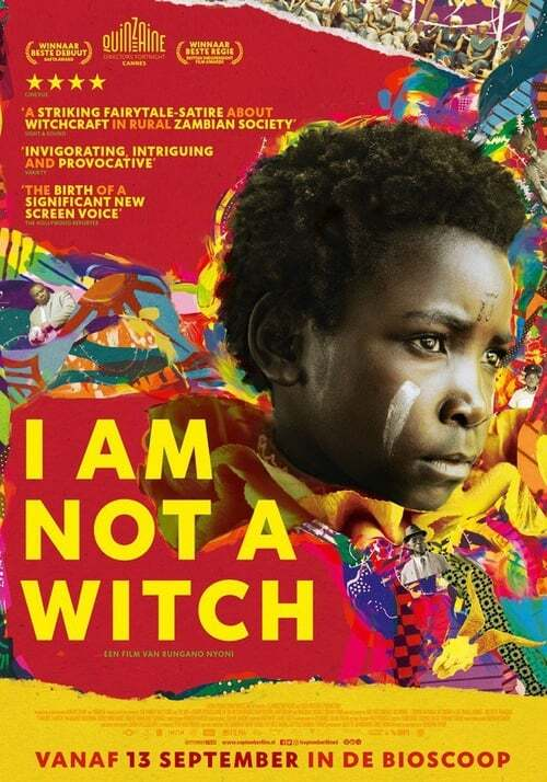 movie cover - I Am Not A Witch