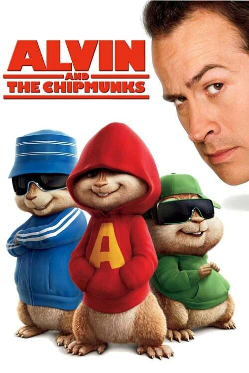 movie cover - Alvin and the Chipmunks