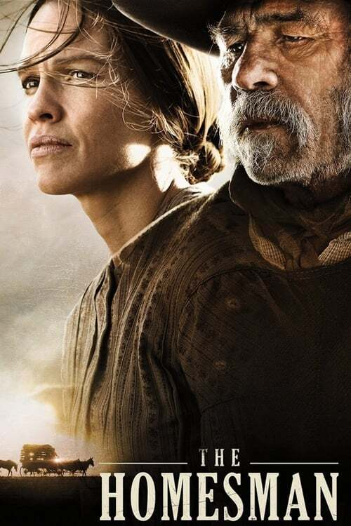 movie cover - The Homesman