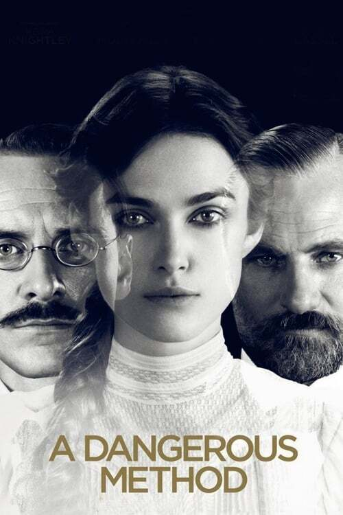 movie cover - A Dangerous Method
