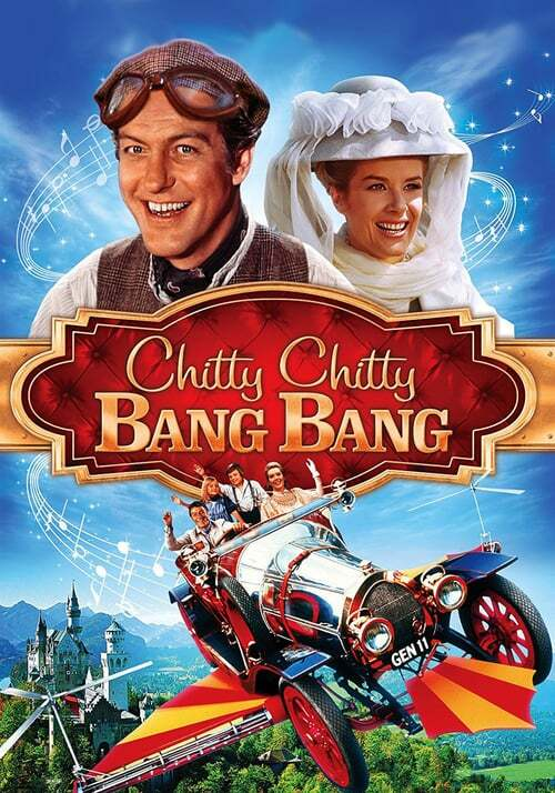 movie cover - Chitty Chitty Bang Bang