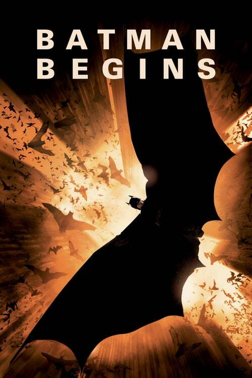 movie cover - Batman Begins