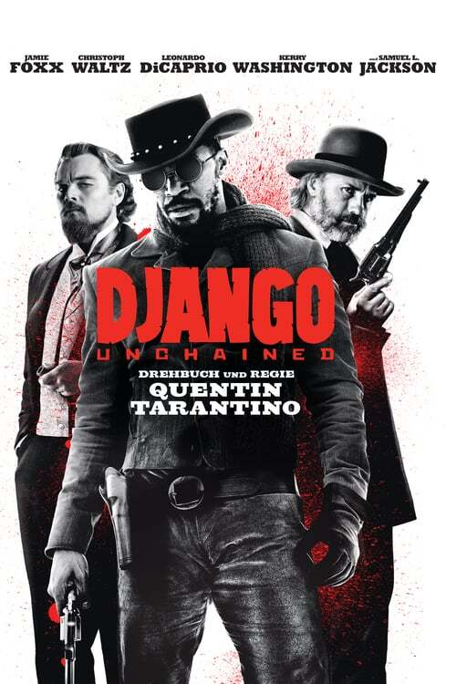 movie cover - Django Unchained