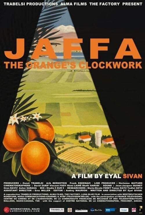 movie cover - Jaffa, The Orange