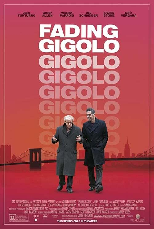 movie cover - Fading Gigolo