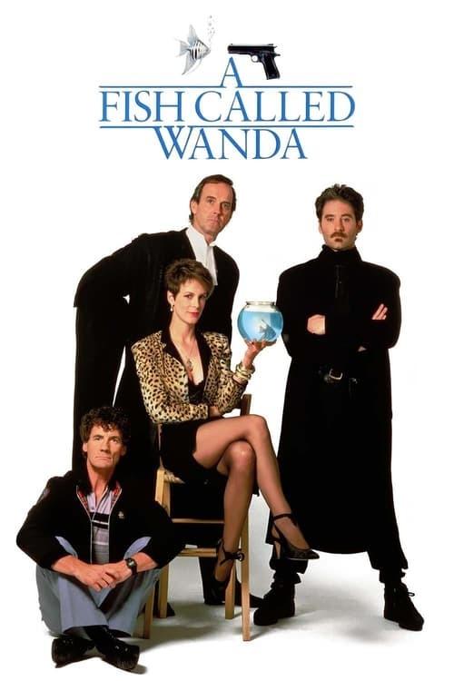 movie cover - A Fish Called Wanda