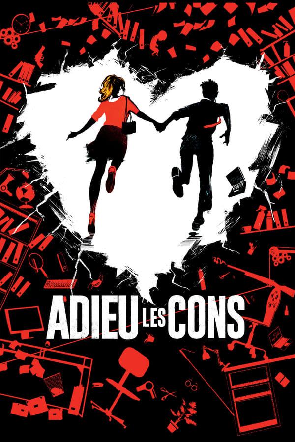 movie cover - Adieu les cons
