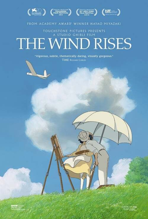 movie cover - The Wind Rises