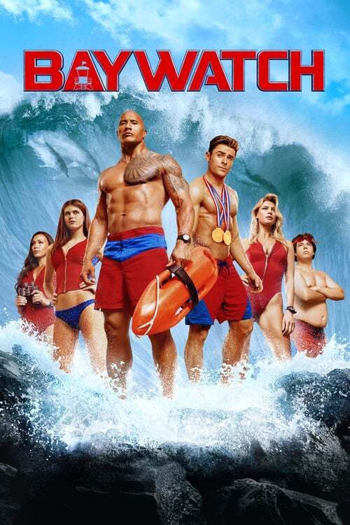 movie cover - Baywatch