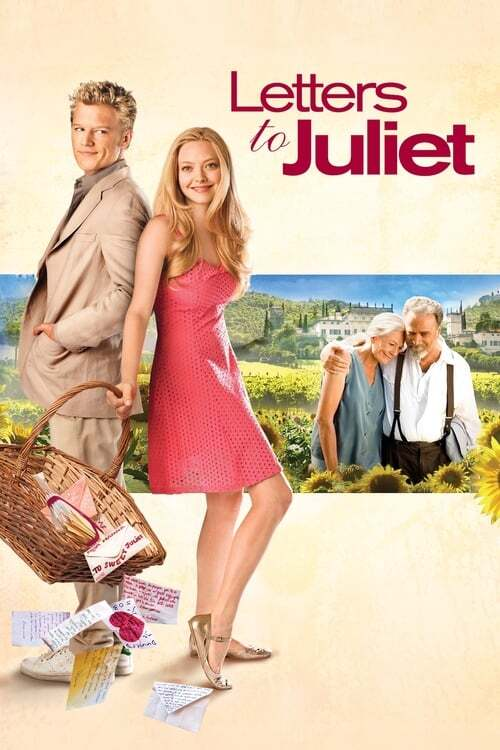 movie cover - Letters To Juliet