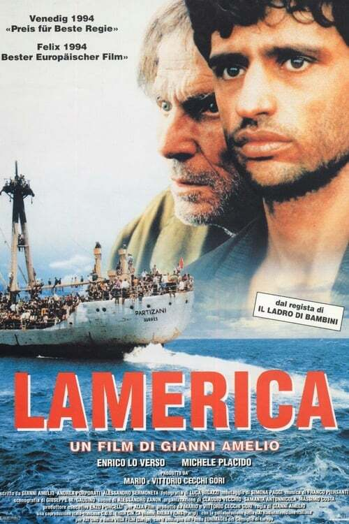movie cover - Lamerica