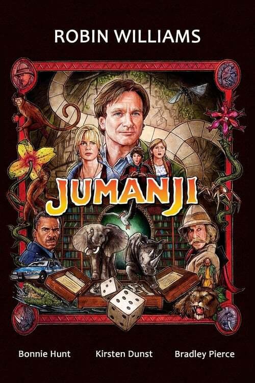 movie cover - Jumanji