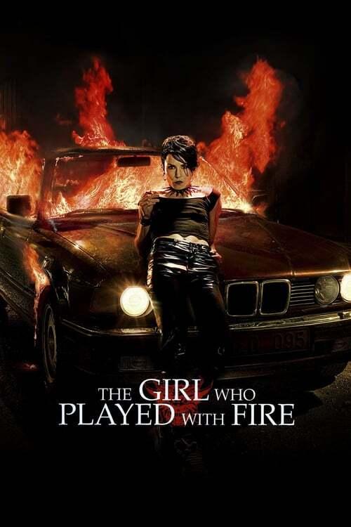 movie cover - De Vrouw Die Met Vuur Speelde