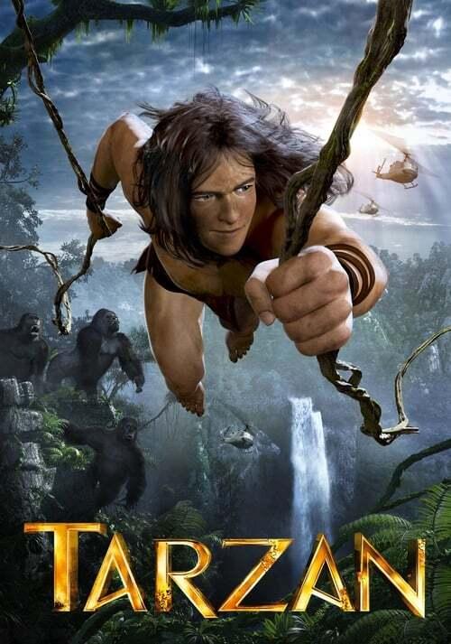 movie cover - Tarzan