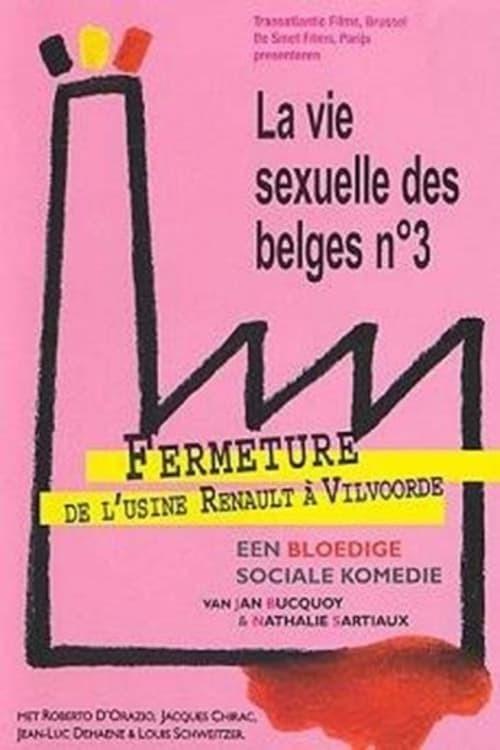 movie cover - Fermeture De L'usine Renault à Vilvoorde